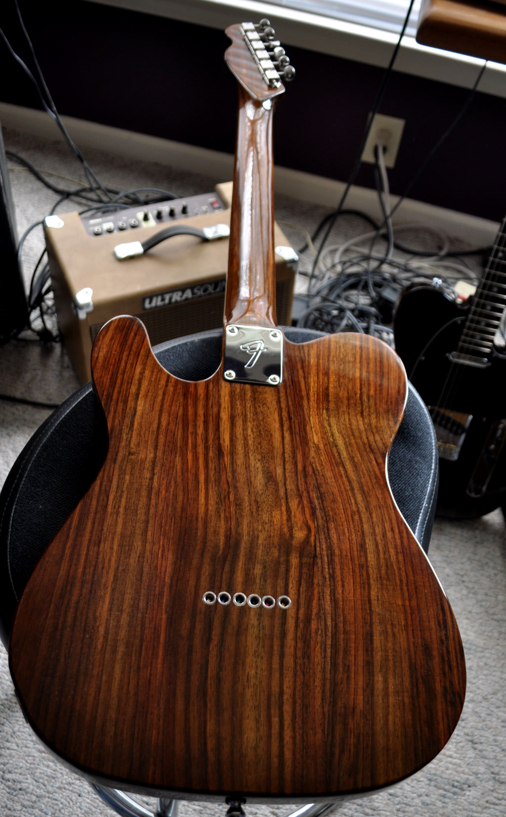 Shabby Chic Guitars Rosewood Telecaster With Fender